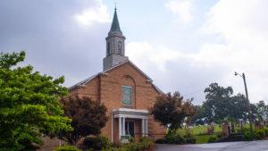 Weaver Union Church front entrance